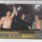 Randy Couture & Pedro Rizzo Top 10 Fights 2011 Topps UFC Title Shot #TT-9