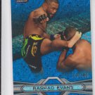 Rashad Evans  Blue Refractors Parallel 2013 Topps UFC Finest #97 130/188