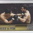 Jens Pulver & BJ Penn Top 10 Fights 2011 Topps UFC Title Shot #TT-16