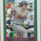Lance Berkman Green Refractors 2012 Bowman Chrome #151 Cardinals