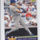 Jose Canseco Triple Crown Contenders 1992 Upper Deck #TC2 Rangers