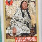 Susie Walking Bear 2009 Topps Heritage American Heroes #64