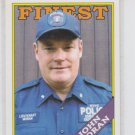 John Moran 2009 Topps Heritage American Heroes #48 NYPD