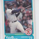 Ellis Burks Young Superstars 1988 Score Series 1#37  Red Sox