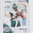 Michael Vick Scorecard SP 2010 Score #225 Eagles 463/499