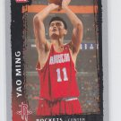 Yao Ming Basketball Trading Card 2008-09 Fleer #131 Rockets