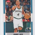 Randy Foye Basketball Trading Card 2007-08 Fleer #127 Grizzlies