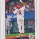 Albert Pujols Award Winners 2009 Topps Series 2 #217 Cardinals Angels