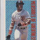 Barry Bonds Gold Paralllel 1994 Topps Series 2 #605 MOG Giants