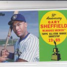 Gary Sheffield 50th Anniversary Insert 2008 Topps #AR2 Brewers