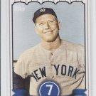 Mickey Mantle Insert 2007 Topps #MMLB10 Yankees