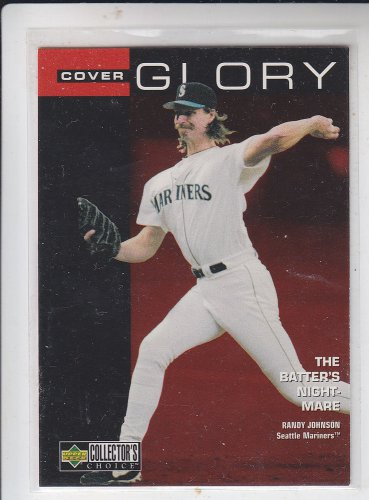 Randy Johnson Cover Glory 1998 Upper Deck Collector's Choice #13 Mariners