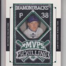 Curt Schilling Manufactured World Series Patch 2003 Upper Deck #MVP-3