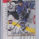 Adam Oates Autograph 1997-98 Pinancle Be A Player #5 Bruins