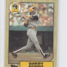 Barry Bonds Rookie Card 1987 Topps RC #320 Pirates Giants