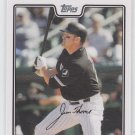 Jim Thome Baseball Trading Card 2008 Topps Series 1 #240 White Sox QTY