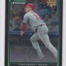 Jay Bruce Rookie Card 2008 Bowman Chrome #BDP11 Reds
