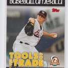Zach Britton Tools of the Trade Insert 2010 Topps Pro Debut #TT33 Orioles
