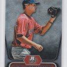 Will Middlebrooks Baseball Trading Card 2012 Bowman Platinum #BPP26 Red Sox
