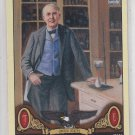 Thomas Edison Baseball Trading Card SP 2011 UD Goodwin Champions #196
