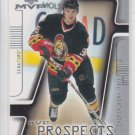 Joel Kwiatkowski Rookie Prospect Card 2001-02 UD MVP #209 Senators