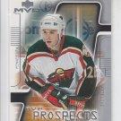 Mike Matteucci Hockey Trading Card 2001-02 MVP Prospect #203 Wild