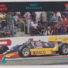 Michael Andretti Racing Trading Card 1992 Collect-A-Card #58 *BOB