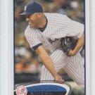 Mariano Rivera Baseball Trading Card 2012 Topps Series 1 #180 Yankees