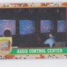 Aegis Control Center Trading Card 1991 Topps Desert Storm #57 *BOB