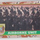 Airborne Unit Trading Card 1991 Topps Desert Storm #68 *BOB