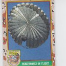 Paratroopers in Flight Trading Card 1991 Topps Desert Storm #70 *BOB