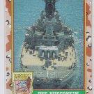 USS Wisconsin Trading Card 1991 Topps Desert Storm #60 *BOB
