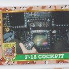 F-18 Cockpit Trading Card 1991 Topps Desert Storm #64 *BOB
