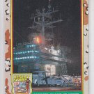 Carrier Plane at Night Trading Card 1991 Topps Desert Storm #55A *BOB