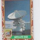 Satellite Dish Trading Card 1991 Topps Desert Storm #72 *BOB