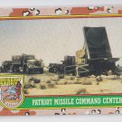 Patriot Missle Command Center Trading Card 1991 Topps Desert Storm #77 *BOB
