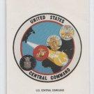 US Command Center Sticker Trading Card Single 1991 Topps Desert Storm #21 *BOB
