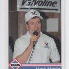 Mark Martin Racing Trading Card 1992 Traks #38 *BOB Chipping