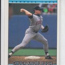Chuck Knoblauch Trading Card Single 1992 Donruss #390 Twins