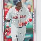 David Ortiz Baseball Trading Card 2007 Upper Deck #590 Red Sox
