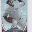 CC Sabathia Baseball Trading Card 2013 Bowman Platinum #83 Yankees