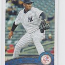 Rafael Soriano Baseball Trading Card 2011 Topps Update Series #US139 Yankees