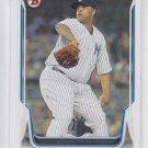 CC Sabathia Baseball Trading Card 2014 Bowman #51 Yankees
