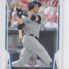 Carlos Beltran Baseball Trading Card 2014 Bowman #77 Yankees
