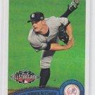 David Robertson Baseball Card 2011 Topps Update Series #US130 Yankees