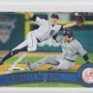 Russell Martin Baseball Trading Card  2011 Topps Update Series #US320 Yankees