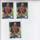 Robinson Cano Baseball Trading Card Lot of (3) ASG 2011 Topps Update 299 Yankees