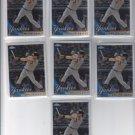 Mark Teixeira Baseball Trading Card Lot of (7) 2010 Topps Chrome #75 Yankees