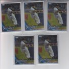 Robinson Cano Baseball Card Lot of (5) 2010 Topps Chrome #114 Yankees Mariners