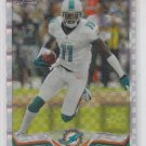 Mike Wallace XFractor Parallel 2013 Topps Chrome #155 Dolphins